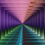 Erratic Portal Art Print