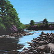Erriff River Art Print