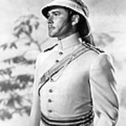 Errol Flynn In The Charge Of The Light Brigade Art Print