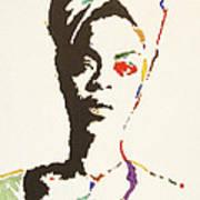 Erykah Badu Print by Stormm Bradshaw