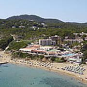 Es Figueral Beach And The Invisa Hotels Art Print