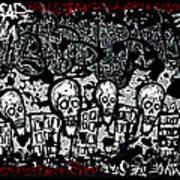 Escape Prison City  Art Print