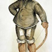 Eskimo Man Art Print