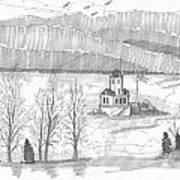 Esopus Lighthouse Art Print