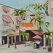 Espanola Way South Beach Florida Art Print