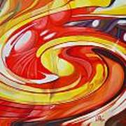 Espiral De Colores Art Print