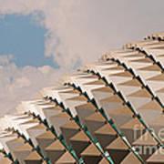 Esplanade Theatres Roof 01 Art Print