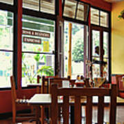 Espresso - Aloha Angel Cafe Art Print