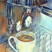 Espresso Machine 3 Art Print