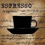 Espresso Madness Art Print