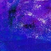 Essay Star Blue Purple Art Print