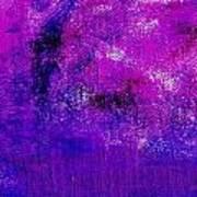 Essay Star Pink Blue Art Print
