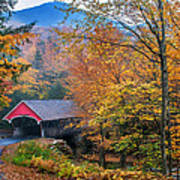 Essence Of New England - New Hampshire Autumn Classic Art Print