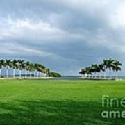 Estate Lawn Art Print by Andres LaBrada