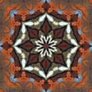 Estuary Sunrise Mandala Art Print