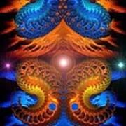 Eternal Angels  Art Print