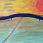 Eternal Bridge Art Print