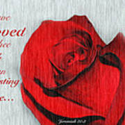 Eternal Valentine Art Print