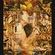 Eternally Yours Art Print by Kurt Van Wagner