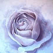 Ethereal Rose Art Print