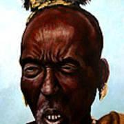 Ethiopian Elder 3 Art Print