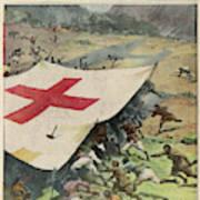 Ethiopians Conceal Men And  Munitions Art Print