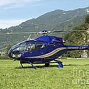 Eurocopter Ec130 Light Utility Art Print