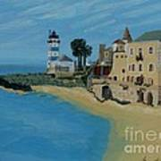 European Lighthouse Art Print