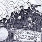 Evans Original Art Print