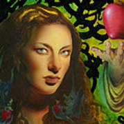 Eve And The Apple Art Print