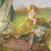 Evelyn Print by Annie Louisa Swynnerton