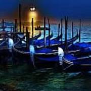 Evening Gondola Art Print