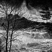 Evening Great Falls Maine Art Print