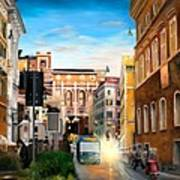Evening In Rome Art Print