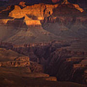 Evening In The Canyon Art Print by Andrew Soundarajan