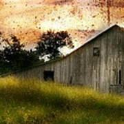 Evening Light Over Taylor Farm Art Print