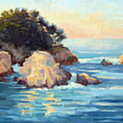 Evening Light Point Lobos Art Print