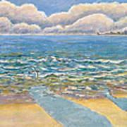 Evening North Myrtle Beach Art Print