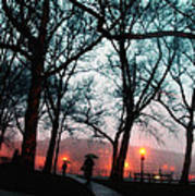 Evening Rain Photofresco Art Print