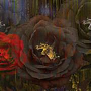 Evening Roses Art Print