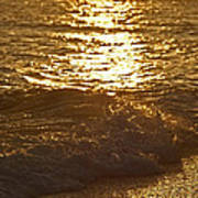 Evening Sun Hive Beach Four Art Print