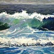 Evening Wave Art Print