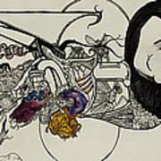 Ever Lasting Youth Aka The Organ Eater Art Print by Nickolas Kossup