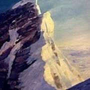 Everest-southeast Ridge Art Print