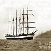 Everett G. Griggs Sailing Ship Washington State 1905 Art Print