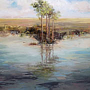 Everglade Palms Art Print
