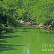 Everywhere Green Art Print