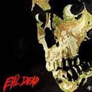 Evil Dead Skull Art Print