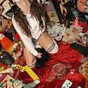 Evil Schoolgirl 126 Art Print
