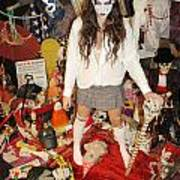 Evil Schoolgirl 274 Art Print